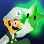 Luigi and Stars by IceBurger