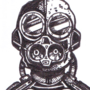 Aviator Gas Mask Doodle