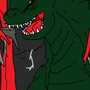 Godzilla 2014 scene by Godzillaisover9000