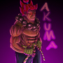 Serious Akuma by IceBurger