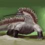 hedgehog/komodo dragon by FASSLAYER