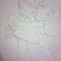 Sonic: ReBirth Amy and Cream by ElderVein