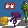 No Dancin'! by Sockembop