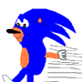 Sonic Running by shas1194