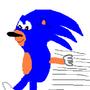 Sonic Running by shas1194