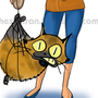 Cat and mouse by sheshu