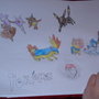 My sons drawing of pokemon by SILVER128