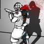Killing a Jinrai Soldier by oldcapitalcomics