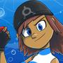 Aqua Girl by Ztoons