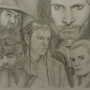 Lord of the Rings Fan Art by Geodracula