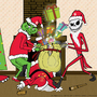 Grinch & Jack-vs-Santa by RECFox