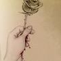 Bloody Rose by xAzimuthx
