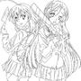 katsura and sekai by AFF14