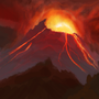 Mount Doom (test) by RicePirate