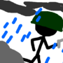 Stick Man War Rainy by SupaHotFior