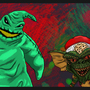Oogie Boogie and Spike by usernamemegan