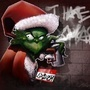 Da Grinch Graffiti by leflip