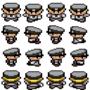 Pokemon Sprite: Policeman by RaShaw