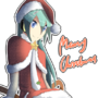Merry Christmas from Miku by dominiichan