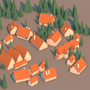 Low Poly Town by devilsgarage