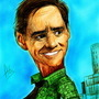 Jim Carrey - Caricature by ponchara80