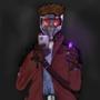 Star-Lord Infinity Gem Selfie by wowzabunny