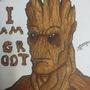 I Am Groot by AlirezaMorgan