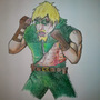 Green Arrow in Fight Club by novikane12