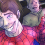 Spiderman Selfie by GoldenForceComics