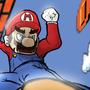 Mario Hates Goomba by instantbenz