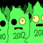 Zombie Christmas Trees by JTBPreston