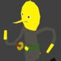 Lemongrab by DeathrayDieDie