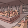 butchers shop by MAJ1CK