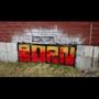 BORN Graffiti OldSchool Block by FullmetalCombine