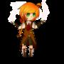 Garnet the Mage elf by Korkunpine