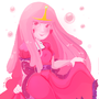 Princess bubblegum by zamii070