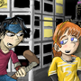 April and Casey Jones by Tahkyn