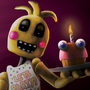 FNAF2: Toy Chica n' Cupcake by MST3KMAN