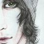 Ville Valo (portrait) by Becksel