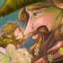 Kiss from the Fae by doublemaximus