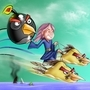 Lourie along the Angry Birds! by SLart1972