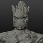 Groot Scuplt by dawnsy