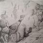 Fallout Pencil Drawing by EmuToons