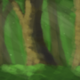 Forest Background by Ivoryviking