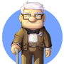 Mr. Fredricksen by ultimatemaverickx