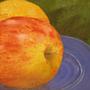 Still Life with Gala Apple by SaoirseRose