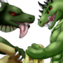 Scaley Threeway by Blacky91
