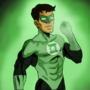 Green Lantern - practice by TheIYouMe