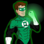 Green Lantern Cell Shaded by TheIYouMe