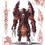 Worgen Shadow Knight by knockwurst